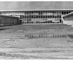Henry Barnard School, shortly after construction completed, 1958. (photo: RIC Archives)
