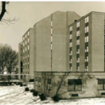 Browne Residence Hall (photo: RIC Archives)