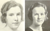 Sisters Catherine Teresa  Murray ('34) and Mary Frances  Murray ('33) namesakes  of the Murray Center (photo: RIC Archives)